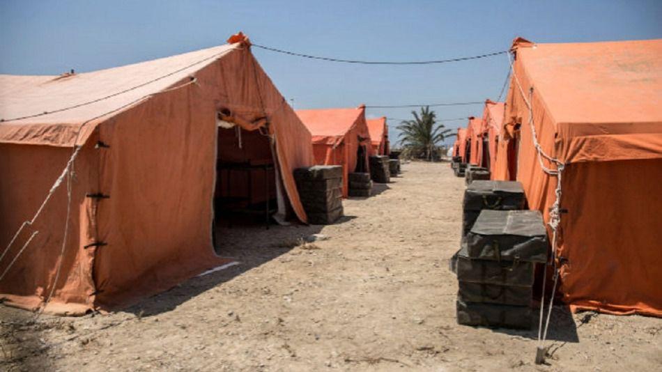 """España pone en marcha su primer """"campo de refugiados"""""""