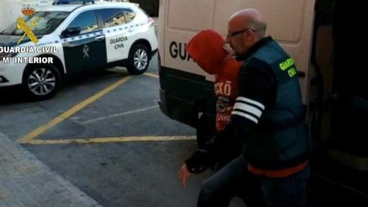 La madre de la víctima vio a 'La Manada' de Callosa en plena acción