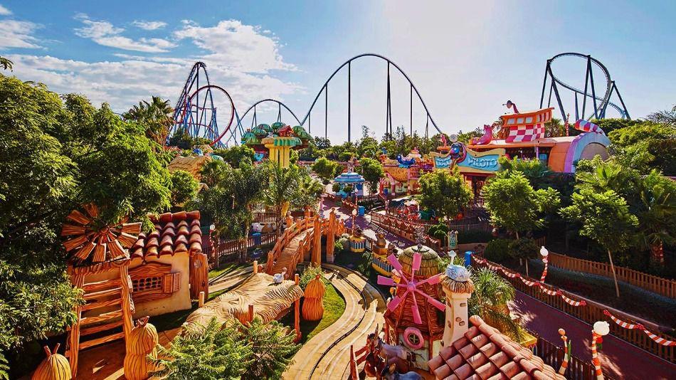 Parques temáticos en España: PortAventura World y WarnerBros