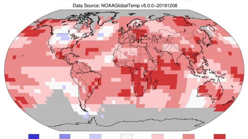 La Tierra en plena ebullición: estamos en el segundo año más caluroso jamás registrado