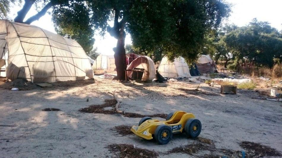 Investigan el posible asesinato de una mujer en un asentamiento de Huelva
