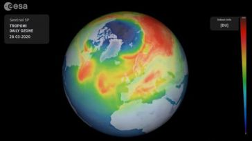 Hallan un inusual agujero en la capa de ozono sobre el Ártico