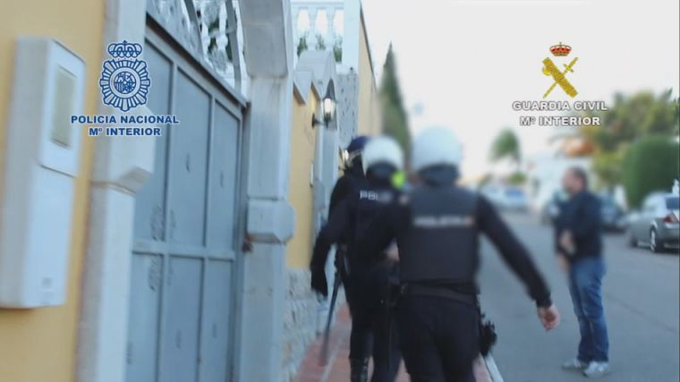 Liberadas 12 mujeres explotadas sexualmente en un chalet de Mijas