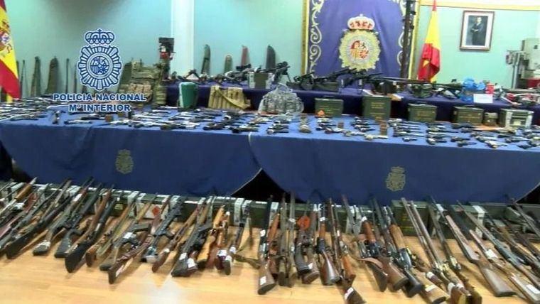 [VÍDEO] Así desarticulan una de las mayores redes de traficantes de armas de España