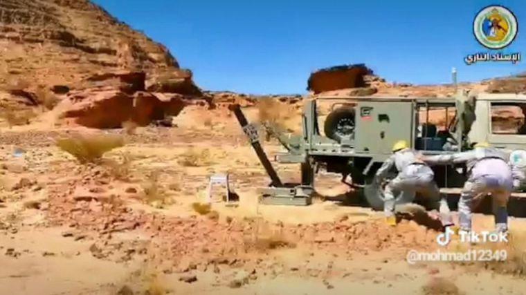 Sistemas de morteros españoles en uno de los lugares más calientes del conflicto yemení