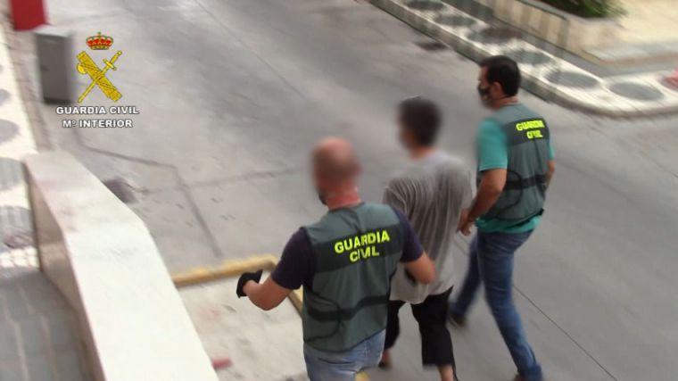 Pillado por las autoridades españolas con una menor camino de Siria