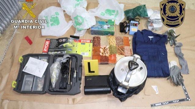 Portugal entrega a España explosivos intervenidos a Resistencia Galega