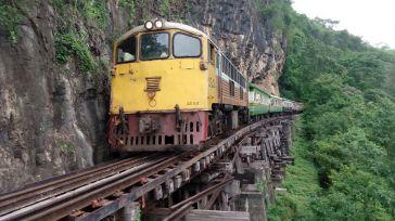 Ferrocarril de la Muerte en Kanchanaburi