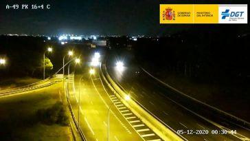 Pillados conduciendo en sentido contrario en la autovía de Sevilla a Portugal