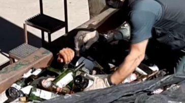 Rescatado enterrado dentro de un saco de cenizas tóxicas
