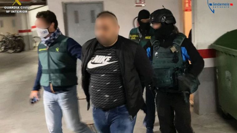 Atrapan al líder de una de las organizaciones criminales más activas de Francia