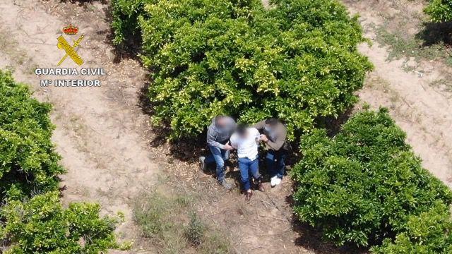 Detienen a un narcotraficante huido en una comunión