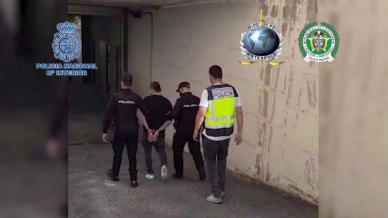 Pillado en Madrid un sicario buscado en Colombia por su implicación en más de 100 homicidios