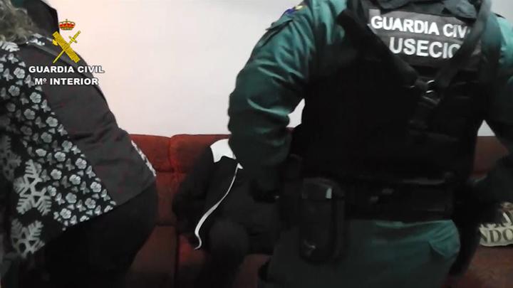 La Guardia Civil detiene a dos personas acusadas de un intento de homicidio en el sur de Francia