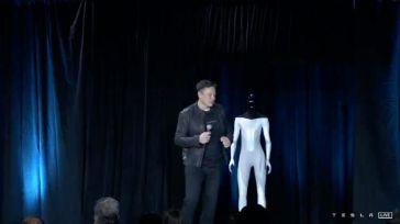 El robot 'humanoide' de Tesla para 'tareas peligrosas y aburridas'