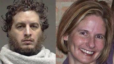 Kenneth Alan Amyx (izquierda) y su víctima, Jennifer Spears (derecha)