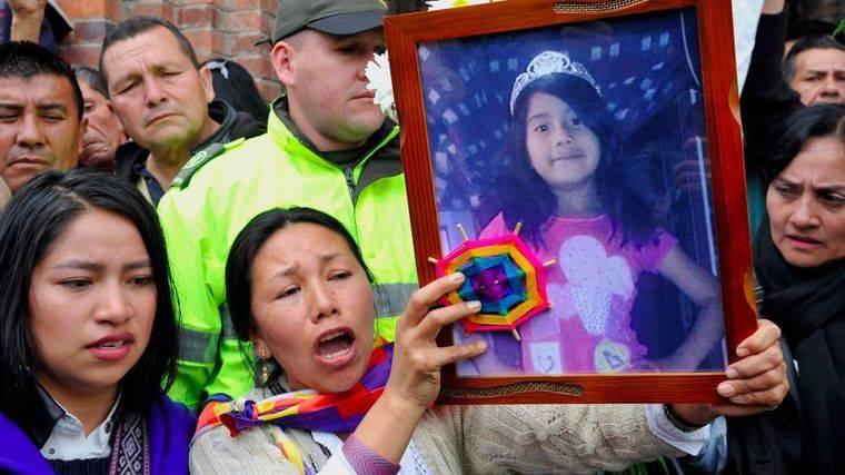 Muere el testigo clave del asesinato de una niña colombiana