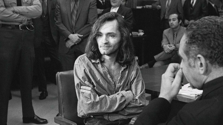 Charles Manson y su amigo por correspondencia