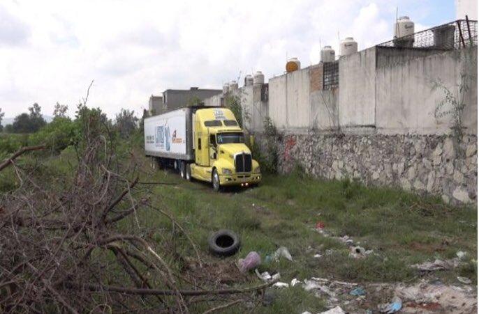 Un camión abandonado con 157 cadáveres en México