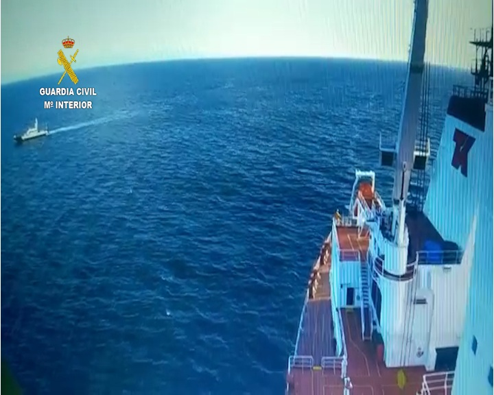 Detenido en alta mar por ser autor de lesiones graves