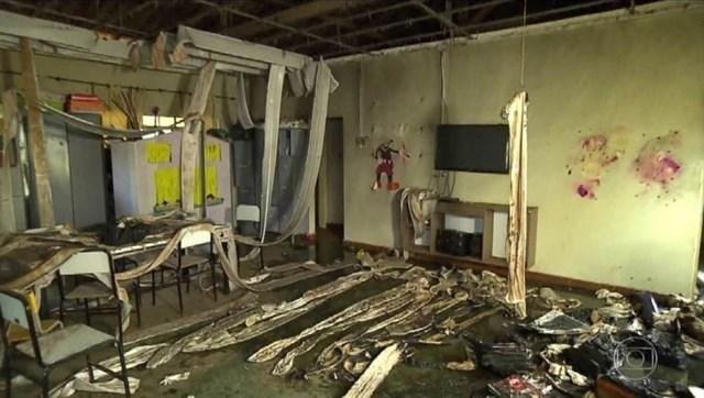 Un vigilante de una guardería prendió fuego a los niños en Brasil