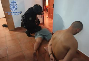 Detenido un peligroso sicario en Casares (Málaga)